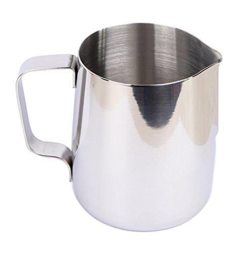Eco-best(tm) New 20 Oz Espresso Coffee Milk Frothing Pitcher, Stainless Steel, 18/8 Gauge