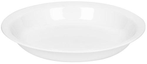 Corelle Livingware 9-Inch Deep Dish Pie Plate Winter Frost White