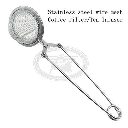 Stainless steel wire mesh coffee filter sieve tea ball tea infuser tea strainer XF0133