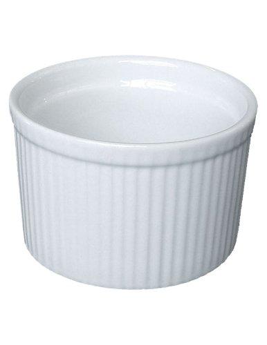 Bia Cordon Bleu White Porcelain 10-ounce Tall Individual Souffle, Set Of 4