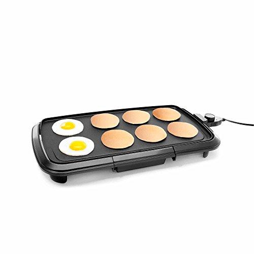 """Chefman Rj23-lg Electric Griddle, 20"""", Black"""