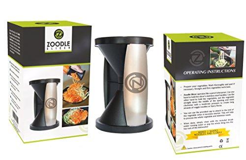 Zoodle Slicer Zs001 Vegetable Spiral Slicer And Pasta Maker