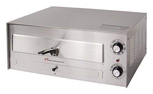 "Wisco 560e Pizza Oven, Heavy Duty Stainless Steel, 16"" Diameter"