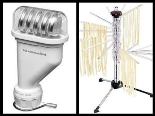 Kitchenaid Kpexta Stand Mixer Attachment, Pasta Press Plus Kpdr Pasta Drying Rack