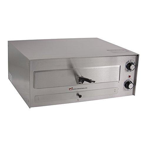 "Wisco 560e Counter Top Commercial Pizza Oven,  23.5"" X 17.5"" X 10.2"", Silver"