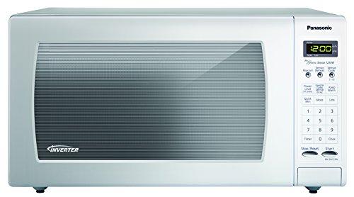 Panasonic Nn-sn733w White 1.6. Cu. Ft. Sensor Microwave Oven With Inverter Technology,