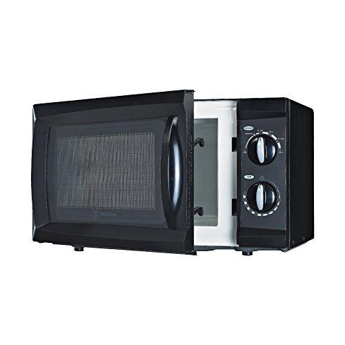 Westinghouse Wcm660b 600 Watt Counter Top Microwave Oven, 0.6 Cubic Feet, Black