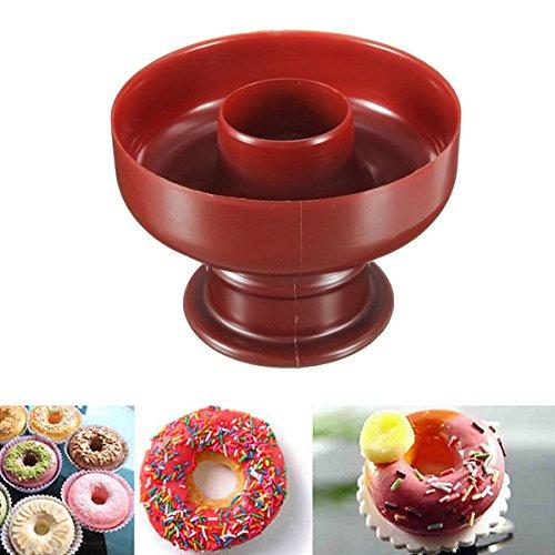Diy Donut Maker Cutter Mold Fondant Cake Bread Desserts Bakery Mould Tool