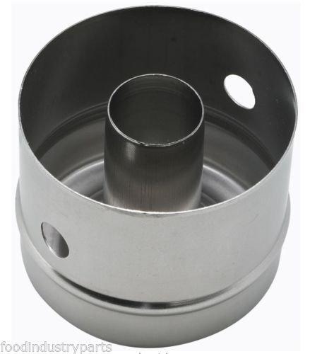 """Donut Cutter Heavy Duty Long Wearing Drawn Stainless Steel 3"""" X 2-1/2"""" Deep"""
