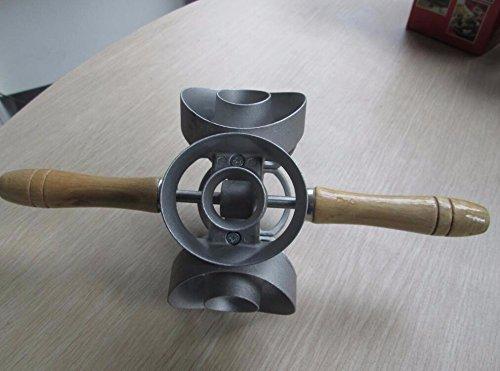 Hot ! Revolving Donut Cutter Maker Mould Molding Machines Mould Metal Cake Mold