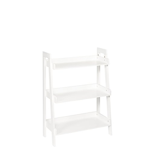 RiverRidge Kids 3-Tier Ladder Shelf White