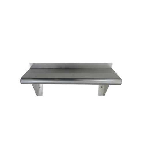 Stainless Steel Wall Mount Shelf NSF Certified All Sizes 48 Long x 12 Deep