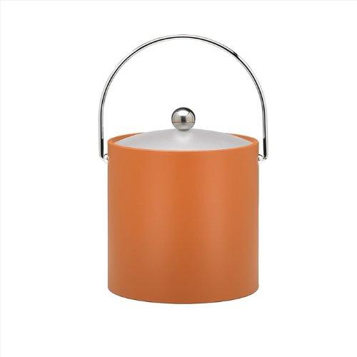Kraftware Bartenders Choice 3-Quart Ice Bucket Spicy Orange