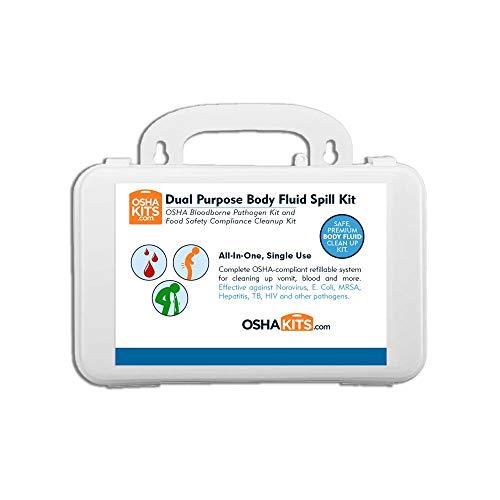 OSHA and Food Safety Norovirus Biohazard Spill Kit 1 kit