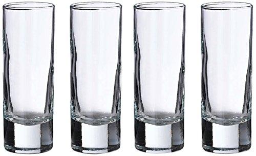 Lillian Rose G150 Set of 4 Tall Shot Glasses 4 Clear