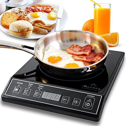 Secura 9100MC 1800W Portable Induction Cooktop Countertop Burner Black