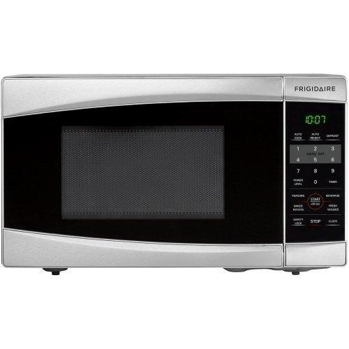 Frigidaire Ffcm0734ls 700-watt Countertop Microwave, 0.7 Cubic Feet, Stainless Steel