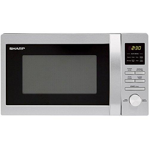 Sharp R228bs 0.7 Cubic Feet Stainless Steel Countertop Microwave Oven, 700-watt