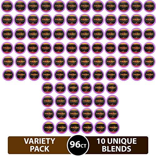 96-count Variety Pack Revival Roaster 10 amazing blends Gourmet Roasted Coffee for Keurig K Cup Brewers Keurig 20 Variety Pack