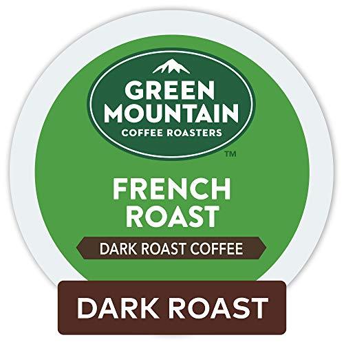 Green Mountain Coffee Roasters French Roast Keurig Single-Serve K-Cup Pods Dark Roast Coffee 96 Count