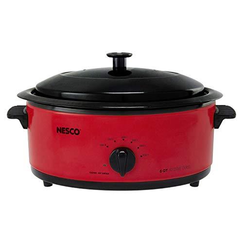 Nesco 4816-12 Roaster Oven 6 Quart Red