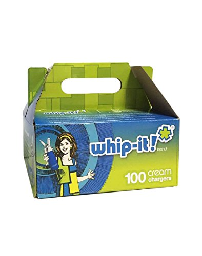 Whip-it Whipped Cream Chargers 100 Pack White