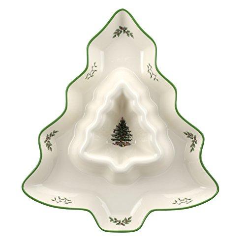 Spode Christmas Tree Chip Dip Serveware Accessory