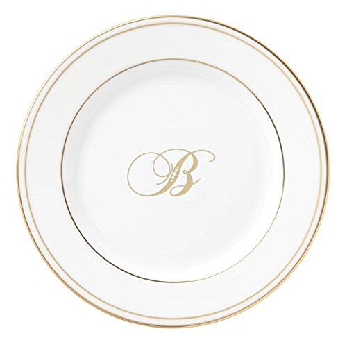 Lenox Federal Gold Script Monogram Dinnerware BreadButter Plate B