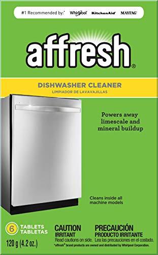 Affresh W10549851 Dishwasher Cleaner 6 Tablets in Carton Original Version pack of 1