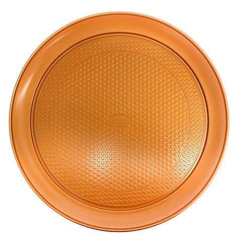 Gotham Steel Ti-Cerama Nonstick 14-Inch Copper Pizza Pan Set of 2