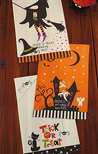 DII Halloween Dish Towels - Set of 3
