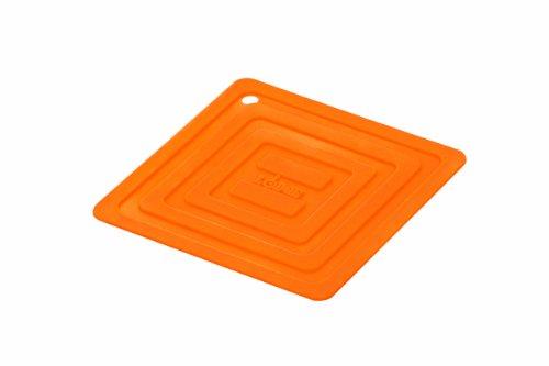 Lodge AS6S61 Silicone Square Pot Holder Orange