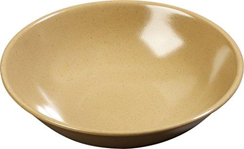 Carlisle 500M20 Melamine Salad Bowl 10-oz Capacity 543 Diameter x 2 Height Maple Case of 72