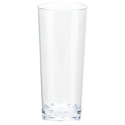 Amscan 35780086 Mini Plastic Cordial Glasses 2 oz Clear