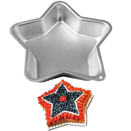 Star Shape Aluminum Alloy Cake Baking Pans Bake Mold