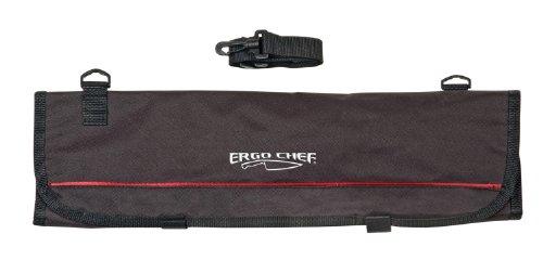 9 Pocket Professional Soft Knife Roll Bag By Ergo Chef