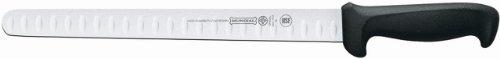 Mundial 5627-12ge 12-inch Hollow Edge Slicing Knife, Black