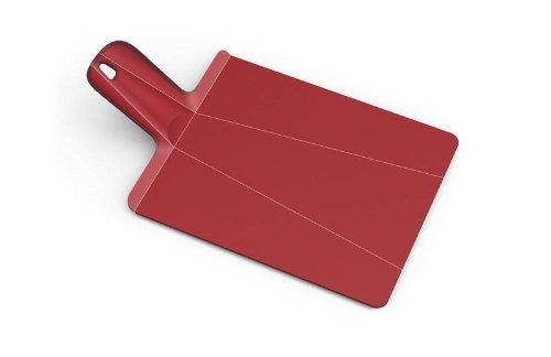 Joseph Joseph Chop 2 Pot Plus Folding Chopping Board, Red
