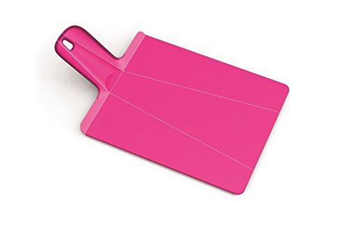 Joseph Joseph Large Chop2 Pot Plus Folding Chopping Board, Pink