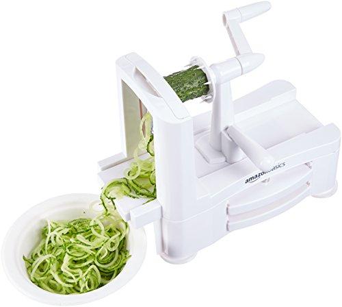 AmazonBasics 3-Blade Vegetable Spiralizer