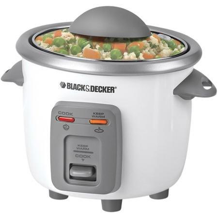 Black Decker 3-Cup Rice Cooker