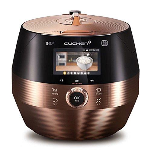 Lihom CUCHEN CJH-PC1004iCT 10 Cups IH Pressure Smart Rice Cooker Black&Gold Plus English Simple Quick Users Manual