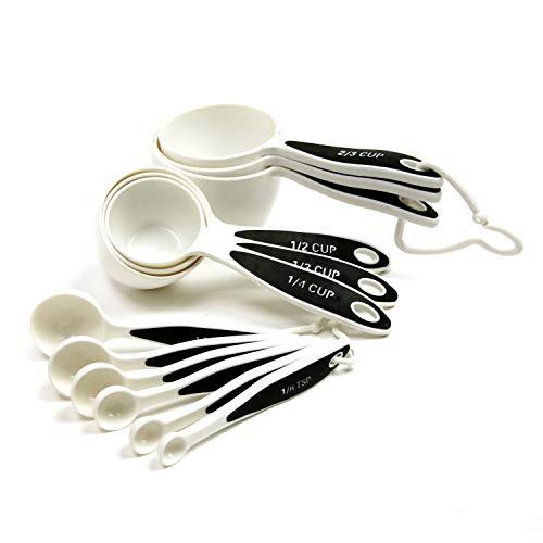 Norpro 3042 Grip-EZ Measuring Cups Spoons Set of 12