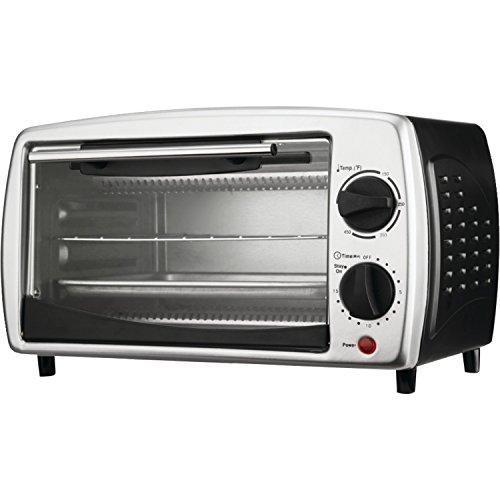 Brentwood TS-345B 4-Slice Toaster Oven Broiler Black