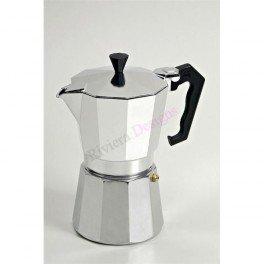 GAT Stove-Top Moka Espresso Italian-Made Coffee Maker Pot - 3 Cup