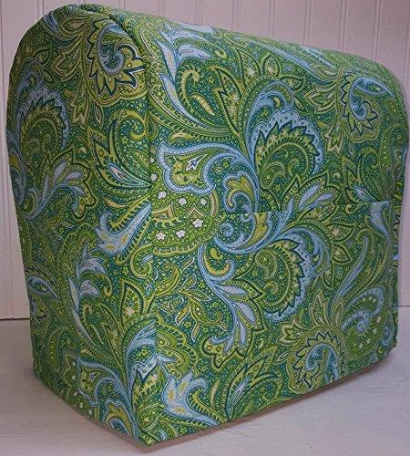Green Blue Paisley Kitchenaid Stand Mixer Cover Tilt Head All Paisley