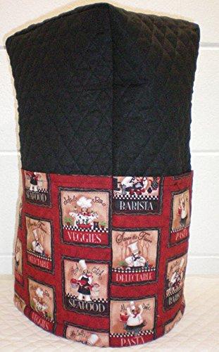 Red Fat Bistro Chefs Blender Cover Large Black