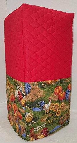 Rooster Blender Cover Red Large