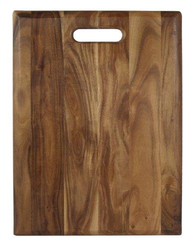 Architec Gripperwood Acacia Cutting Board Non-Slip Gripper Feet 12 by 16
