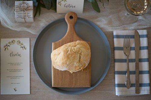 Individual serving cutting board